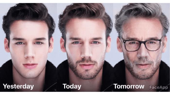 FaceApp: Viraler Gesichtsveränderer sorgt für Privatsphärenängste