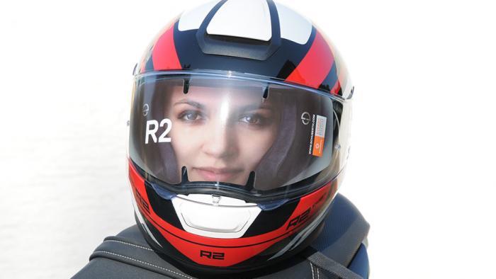 Helm-Test: Der neue Schuberth R2   heise Autos