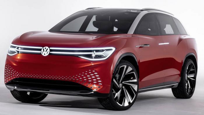 VW ID. Roomzz Concept
