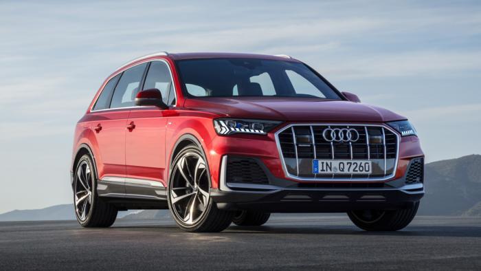 Audi überarbeitet den Q7