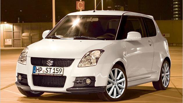 """Suzuki bringt den Swift Sport """"Rock am Ring"""" an den Start."""
