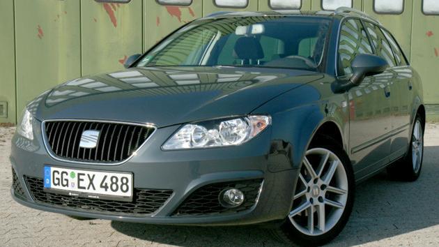 Nieuw Seat Exeo ST 2.0 TDI: Spanier mit Audi-Genen   heise Autos QB-48