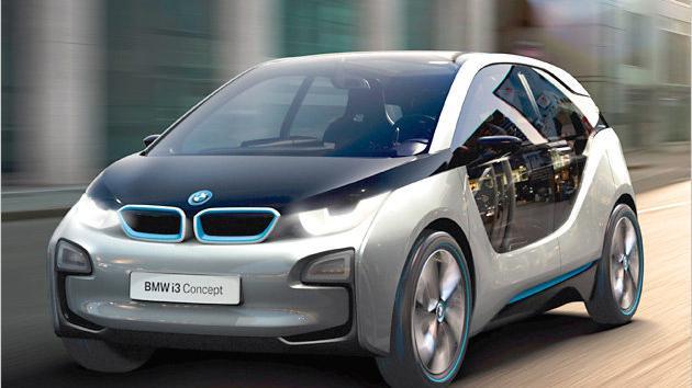 BMW i3 Concept: Kompaktes City-Fahrzeug mit Elektroantrieb