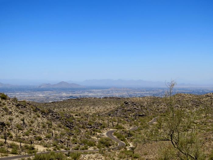 Wüstenszene in Phoenix