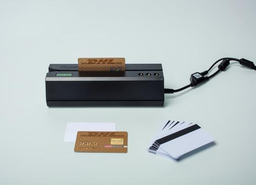 Zum Erstellen der Kundenkarten benötigt man lediglich einen Magnetkartenschreiber für 140 Euro und Kartenrohlinge für wenige Cent.