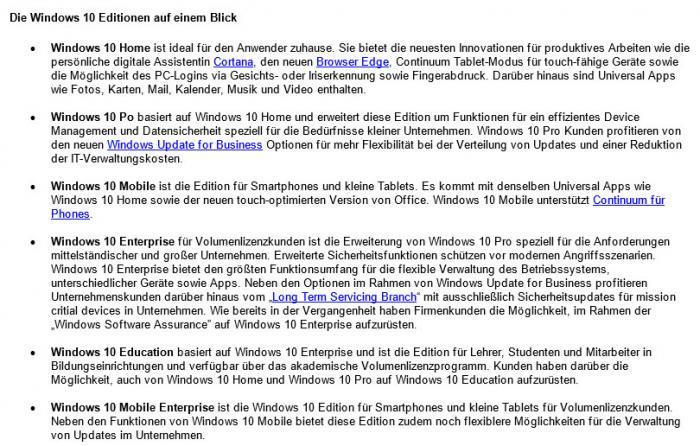Pressemitteilung von Microsoft