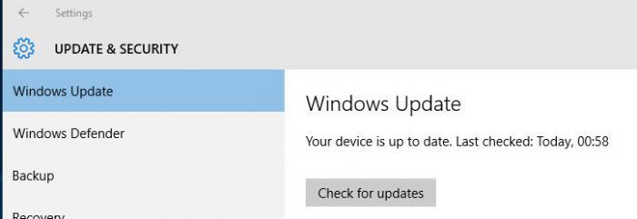 Windows 10 sagt, es gäbe kein Update