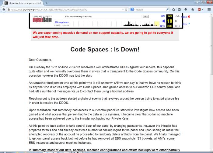 Screenshot archive.org