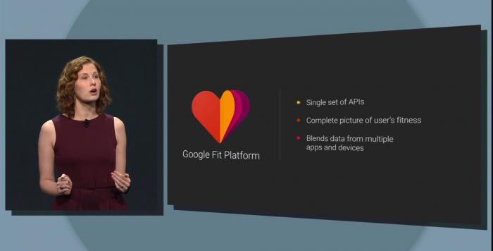 Google Fit sammelt erfasste Körperdaten in der Cloud.