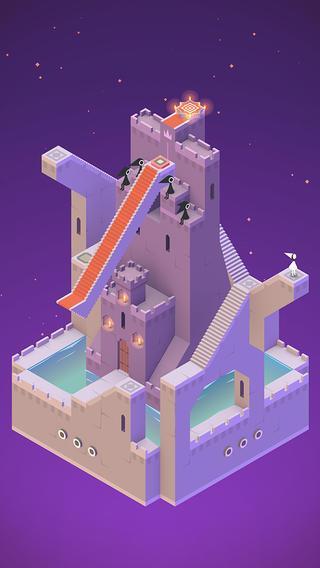 """""""Monument Valley"""" auf dem iPhone: Schön gestaltet, schönes Gameplay."""