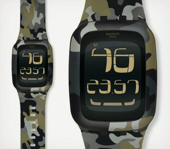 Swatch-Uhr Touch: Demnächst mit Fitnesstracking.
