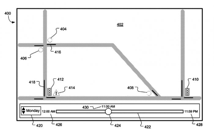 Ampeln und Stoppschilder werden dem Patent zufolge bei der Routenplanung berücksichtigt