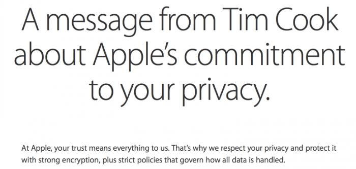 Screenshot Apple.com