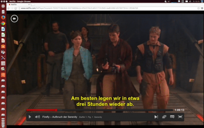 Netflix unter Linux