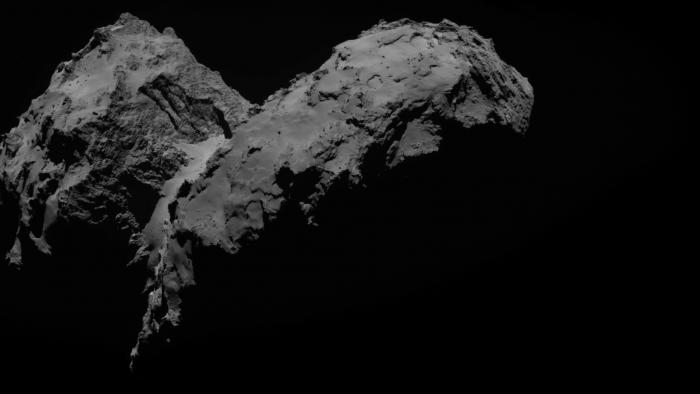 Rosettas Komet 67P/Tschurjumow-Gerassimenko riecht streng