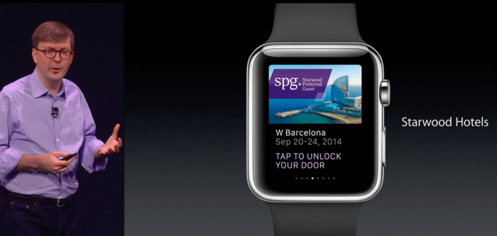 Die Apple Watch dient künftig ebenfalls als Schlüssel