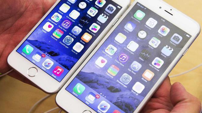 iPhones