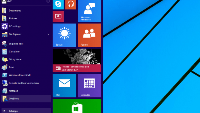 Technical-Preview-Update von Windows 10 bringt Drei-Finger-Gesten