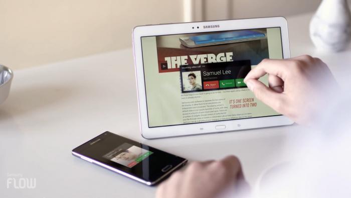 Samsung Flow teilt Inhalte auf Mobilgeräten, Wearables und Smart-TVs