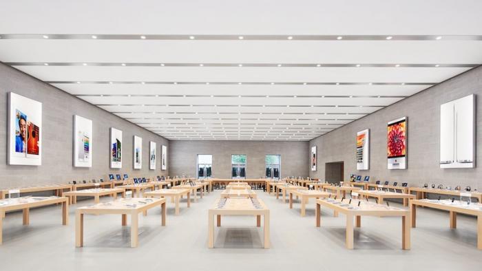 bericht neue apple l den in vier deutschen st dten mac i. Black Bedroom Furniture Sets. Home Design Ideas