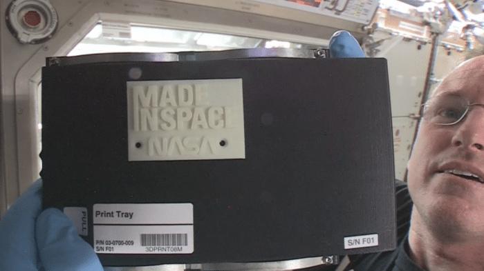 Erster 3D-Druck im Weltraum gelingt
