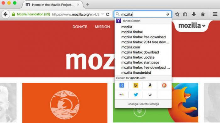 Firefox will besser suchen