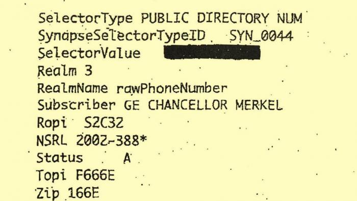 Bundesanwalt: Kein Beweis für Überwachung von Merkels Handy durch NSA