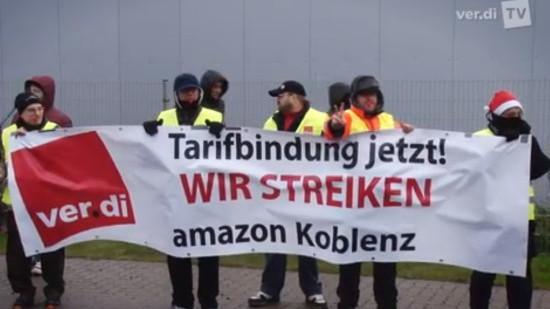 Bsirske: Amazon-Arbeitskampf hat grundsätzliche Ausstrahlung