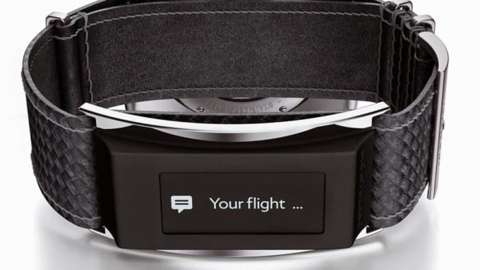 Smartes Uhren-Armband von Montblanc