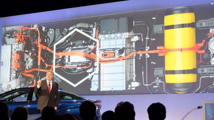 CES: Toyota will Brennstoffzellen-Auto bauen