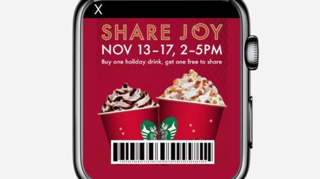 Reklame auf der Apple Watch