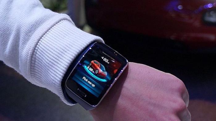 CES: Smartwatch befehligt selbstfahrendes Auto