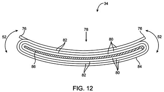 Apple lässt sich biegsame Mobilgeräte patentieren