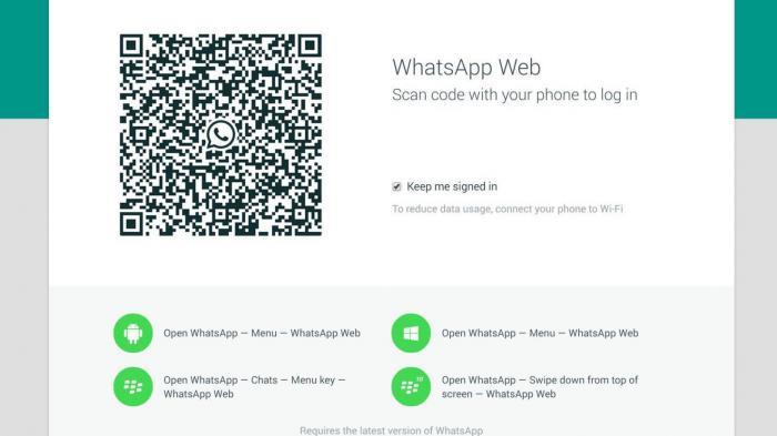 Whatsapp bekommt Webclient