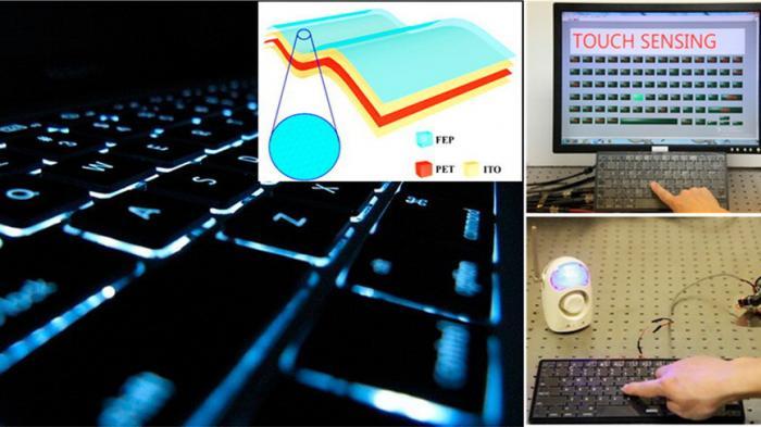 Intelligente Tastatur erkennt Nutzer und lädt sich beim Tippen auf