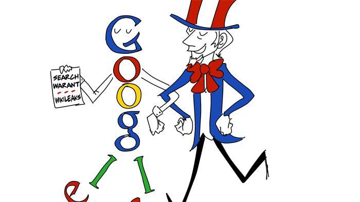 Wikileaks klagt Google an