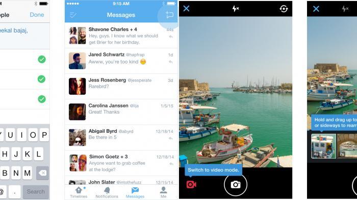 Twitter liefert Gruppen-Nachrichten und native Video-Funktion aus