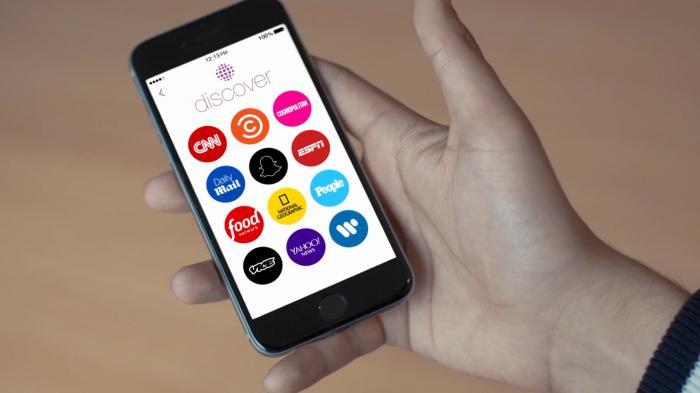 Update – Snapchat führt Discover-Funktion ein