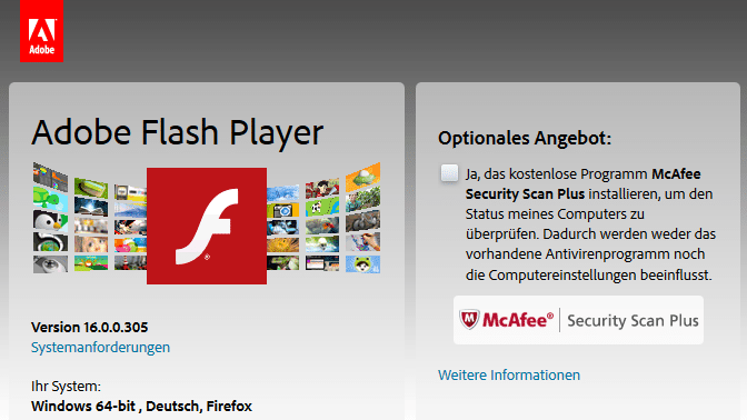 Flash-Update schließt insgesamt 18 Lücken, jetzt für alle Plattformen