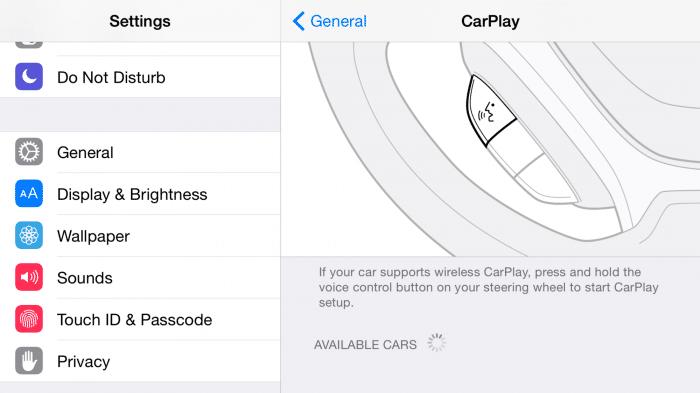 CarPlay wird drahtlos