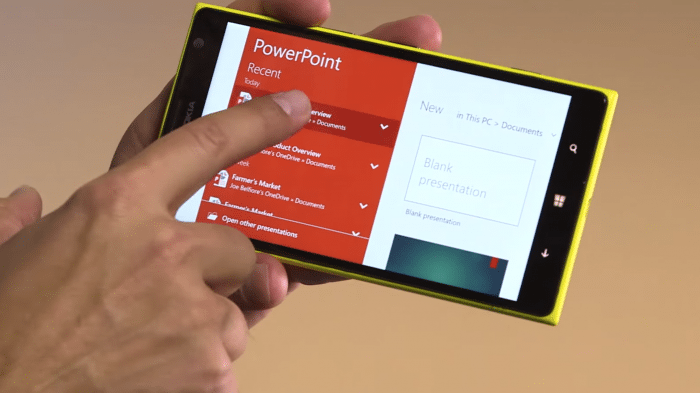Vorabversion von Windows 10 für Smartphones