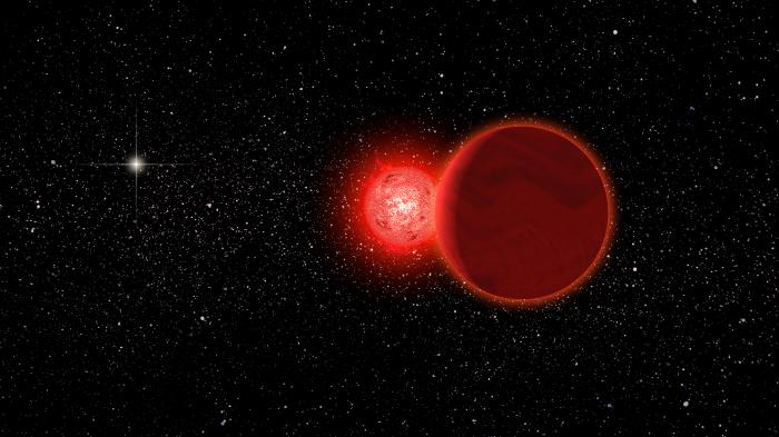 Stern passierte Sonnensystem vor 70.000 Jahren in 0,8 Lichtjahren Entfernung