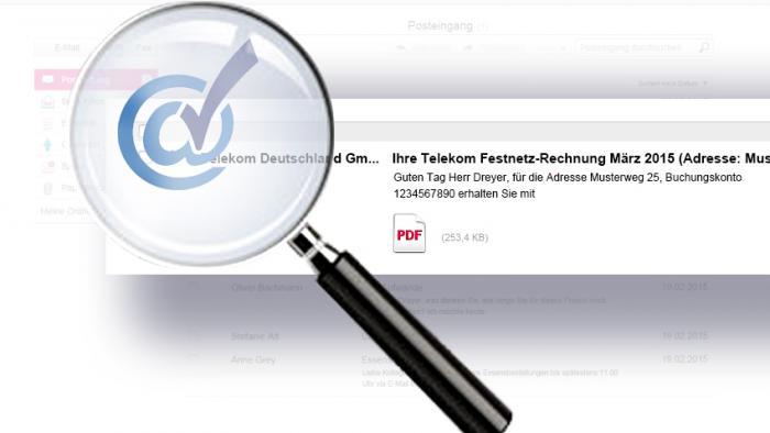 Telekom macht Online-Rechnungen sicherer gegen Phishing