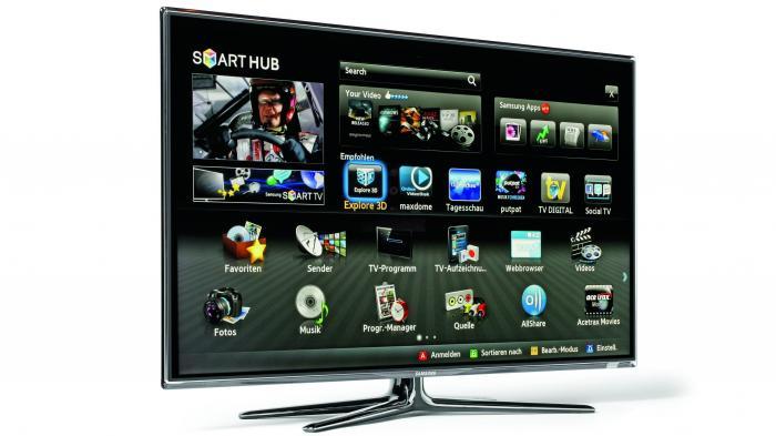 TV-Apps in Samsung-Fernsehern offline
