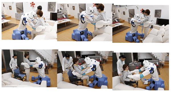 Experimenteller Pflegeroboter wird leichter, wendiger und gefühlvoller
