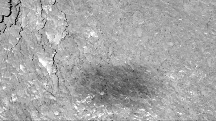 ESA-Sonde Rosetta fotografiert eigenen Schatten