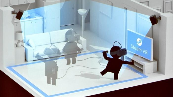 Valves VR-Brille Vive: Intensivste Virtual Reality dank Positionstracking