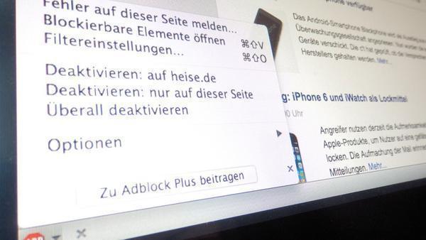 Adblock Plus: Landgericht Köln tritt auf die Bremse