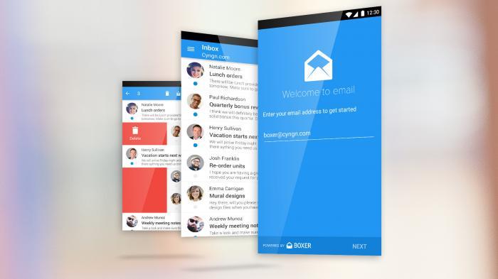 Cyanogen kooperiert mit Boxer für alternative Email-App