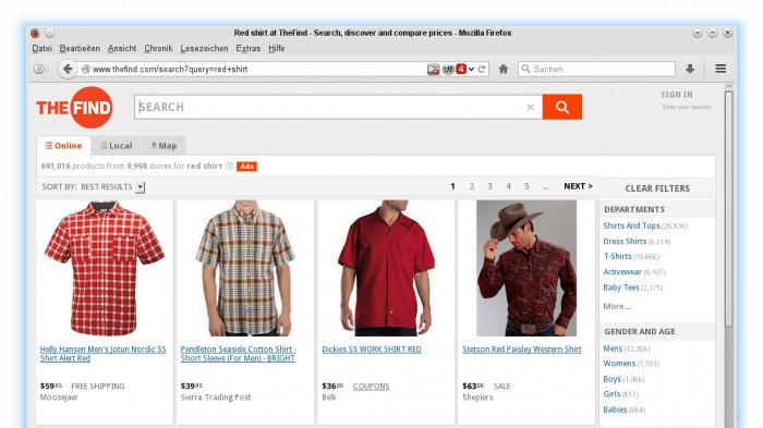 Facebook kauft US-Shopping-Portal TheFind.com